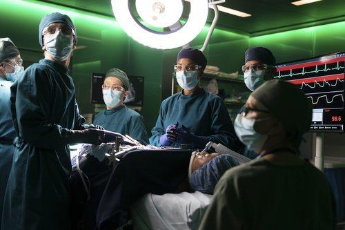 Los cirujanos de 'The Good Doctor' en el quirófano
