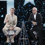 Hugo Castejón y Jorge Javier Vázquez, en la Gala 4 de 'GH VIP 7'