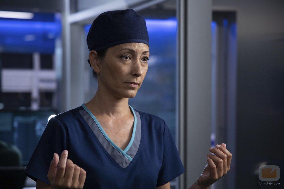 La jefa de cirugía Audrey Lim en la tercera temporada de 'The Good Doctor'