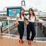 Cristina y Marisa Zapata, en 'First Dates Crucero'