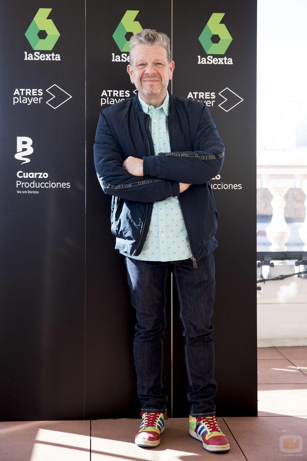 Alberto Chicote, presentador de 'Pesadilla en la cocina'