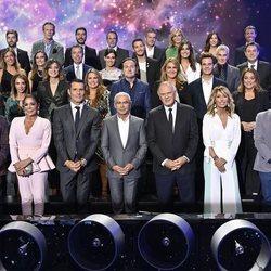 Foto de familia de Mediaset España en la temporada 2019/2020