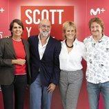 María Ruiz, Fernando Jerez, Mercedes Milá y David Moncasi presentan 'Scott y Milá 2'