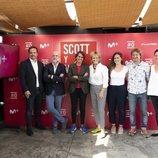 Mercedes Milá, el equipo de Movistar+ y el de Zanskar presentan 'Scott y Milá 2'