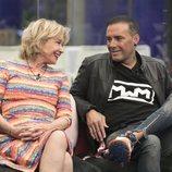 Mila Ximénez y Dinio García en la gala 5 de 'GH VIP 7'