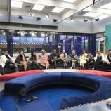 Los concursantes de 'GH VIP7' en el salón en la Gala 5 de 'GH VIP 7'