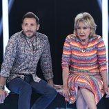 Mila Ximénez y Antonio David Flores, juntos en la Gala 5 de 'GH VIP 7'