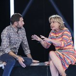 Mila Ximénez y Antonio David Flores discuten en la Gala 5 de 'GH VIP 7'