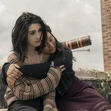 Alexa Mansour y Aliyah Royale en 'World Beyond', el segundo spin-off de 'The Walking Dead'