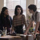 Aliyah Royale, Alexa Mansour y Nicolas Cantu en el segundo spin-off de 'The Walking Dead'