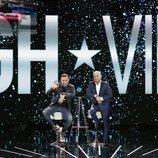 Dinio y Jorge Javier Vázquez, juntos en el plató de la Gala 5 de 'GH VIP 7'