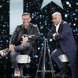 Jorge Javier Vázquez entrevista a Dinio en la Gala 5 de 'GH VIP 7'