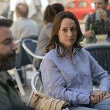 Cristina y Sergio son pareja en 'El nudo', de Atresplayer Premium