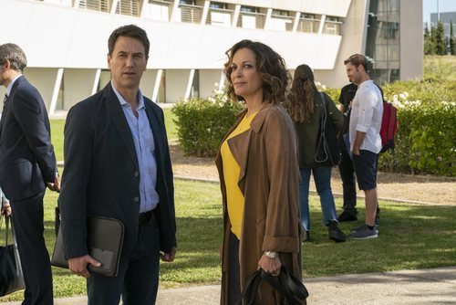 Rebeca y Daniel, una de las parejas protagonistas de 'El nudo'