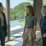Cristina Plazas, Luisa Gavasa y Berta Galo son familia en 'El nudo'