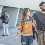 Astrid Janer y Miquel Fernández en 'El nudo', de Atresplayer Premium