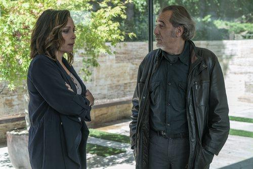 Enrique Villén y Cristina Plazas en 'El nudo', thriller de Atresplayer Premium