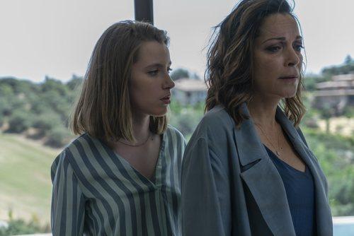 Rebeca y Mía, madre e hija en la serie 'El nudo'