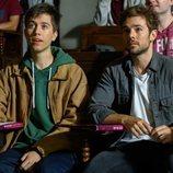 Biel y Pol Rubio atienden a una clase en 'Merlí: Sapere Aude'