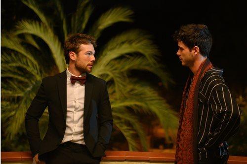 Pol Rubio y Bruno Bergeron en 'Merlí: Sapere Aude'