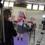 Una de las aspirantes a 'OT 2020' en el primer casting de Barcelona