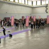 Aspirantes de 'OT 2020' en el primer casting en Barcelona