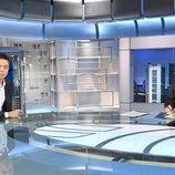 Pedro Piqueras entrevista a Íñigo Errejón en 'Informativos Telecinco'