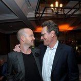 Aaron Paul y Bryan Cranston se reencuentran en la premiere de 'El Camino: Una película de Breaking Bad'