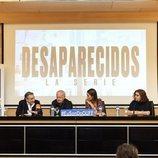Rueda de prensa de la serie 'Desaparecidos'