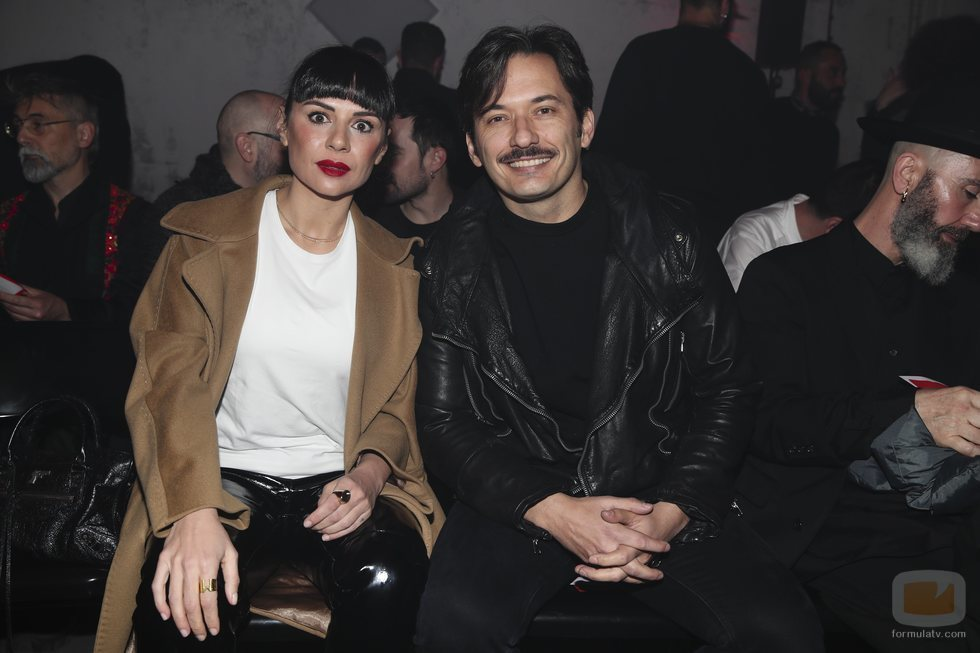 Miren Ibarguren y Alberto Caballero, en la Cibeles Fashion Week