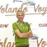 Jesús Calleja, en la presentación de la quinta temporada de 'Volando voy'