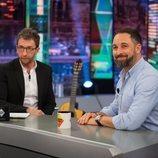 Pablo Motos entrevista a Santiago Abascal en 'El hormiguero'