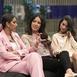 Noemí Salazar, Irene Junquera y Estela Grande, en la Gala 6 de 'GH VIP 7'