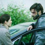 Los inspectores Adam Belmont y Julie Dulac, en 'Trauma'