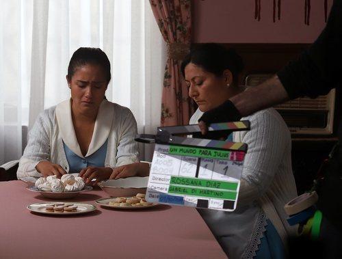 Mayella Lloclla es Vilma en 'Un mundo para Julius', la TV Movie de RTVE