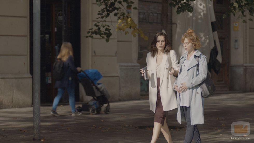 Leticia Dolera y Celia Freijeiro son amigas en 'Vida perfecta'