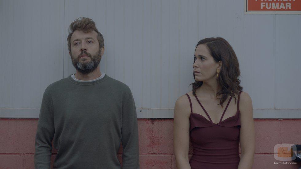Celia Freijeiro y Font García en 'Vida perfecta'