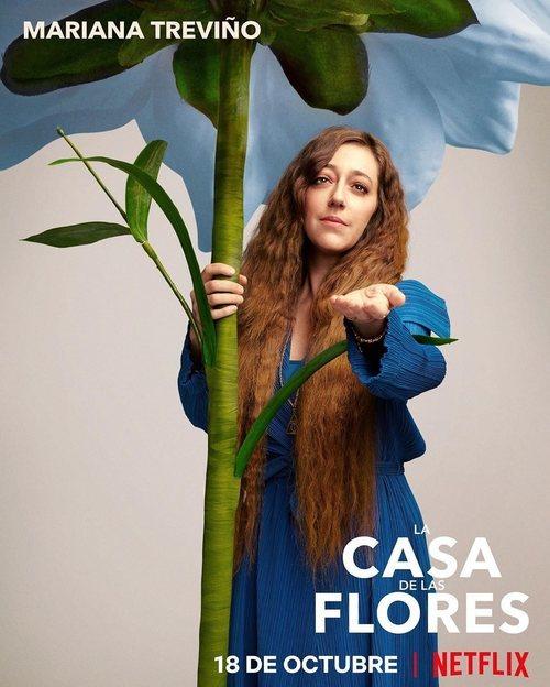 Mariana Treviño, en la temporada 2 de 'La casa de las flores'