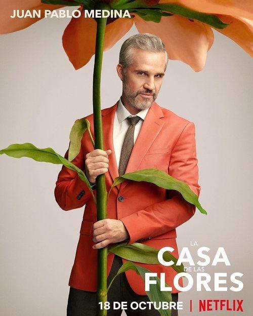 Juan Pablo Medina, en la temporada 2 de 'La casa de las flores'