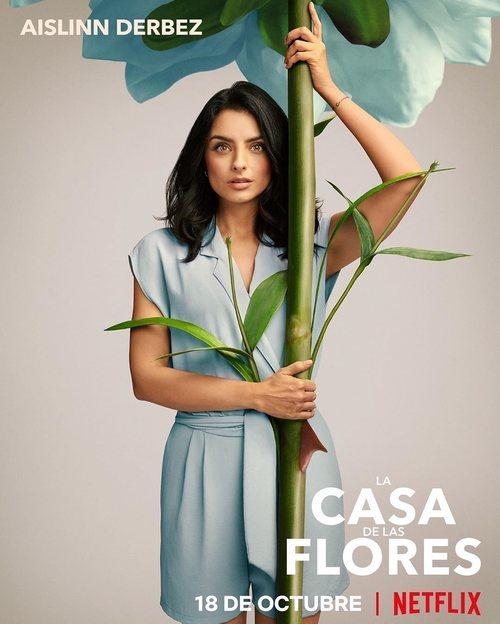 Aislinn Derbez, en la segunda temporada de 'La casa de las flores'