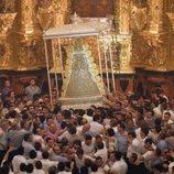 La Virgen del Rocío en una escena de 'Bajo escucha. El acusado'