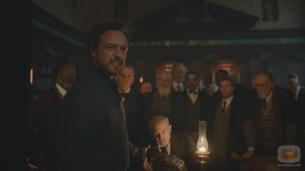 James McAvoy es Lord Asriel en 'La materia oscura'