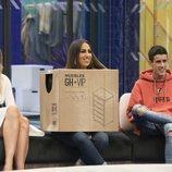 Alba Carrillo, Noemí Salazar y El Cejas, en la Gala 7 de 'GH VIP 7'