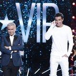 Jorge Javier Vázquez y Hugo Martín, en la Gala 7 de 'GH VIP 7'