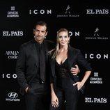 Àlex Adrover y Patricia Montero en la gala de premios ICON