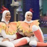 Alba Carrillo e Irene Junquera, muy sonrientes en la Gala 7 de 'GH VIP 7'