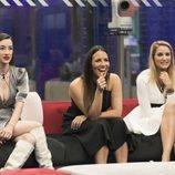 Adara, Irene Junquera y Alba Carrillo, en la Gala 7 de 'GH VIP 7'