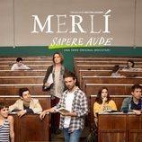 Cartel oficial de 'Merlí: Sapere Aude' con los protagonistas en el aula
