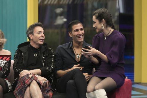 Adara, Gianmarco y el Maestro Joao en la Gala 8 de 'GH VIP 7'