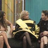 Noemí, Mila Ximénez y el Maestro Joao en la Gala 8 de 'GH VIP 7'